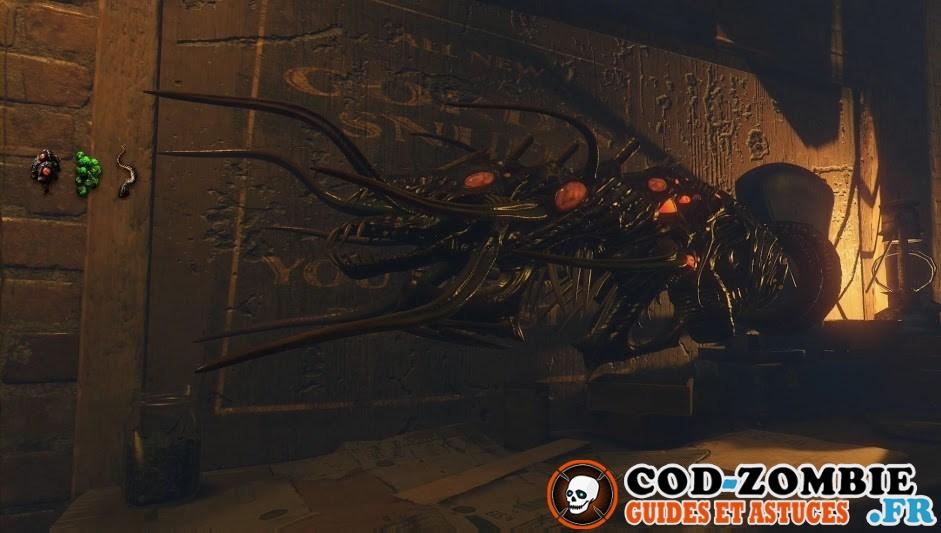 Arme spéciale Shadows of Evil Black Ops 3 Zombie