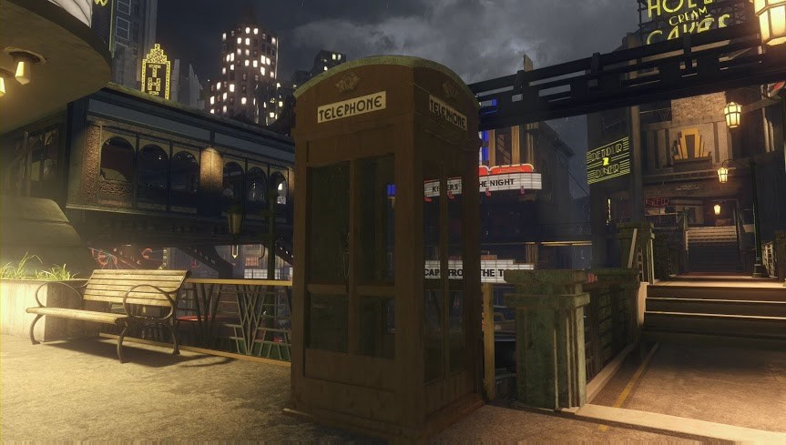 Easter Egg Audio Log Cabine Téléphonique Shadows of Evil Black Ops 3 Zombie