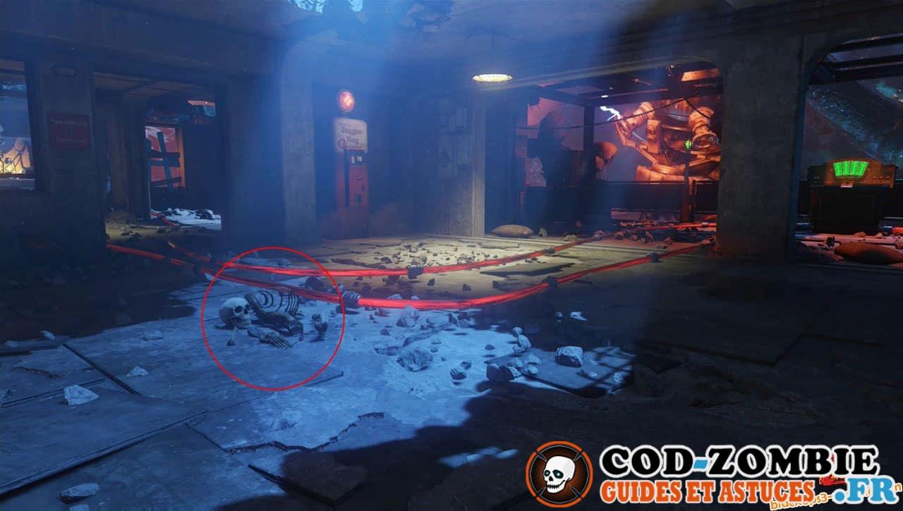 Revelations Secret Emplacement Squelette Black Ops 3 Zombie