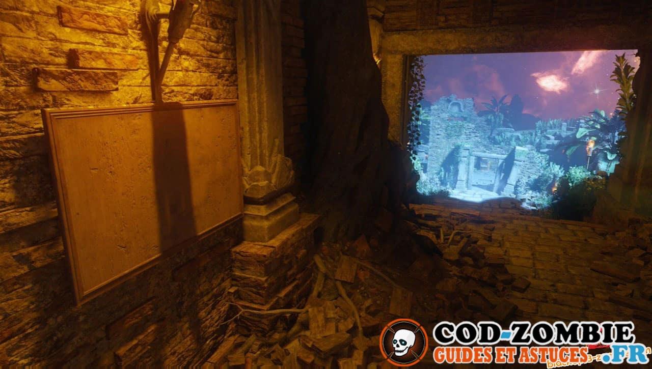 Revelations secret emplacement katana et armes contre la montre Black Ops 3 Zombie