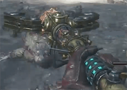 Black Ops 2 Zombie Origins baton du feu