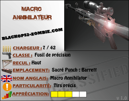 test Macro Annihilateur
