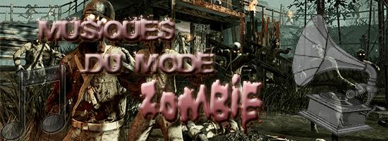 Musiques du mode zombie